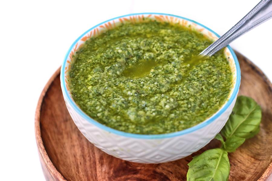 Easy Fresh Basil Pesto | Better Living