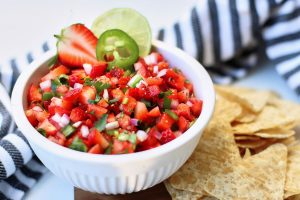 Easy Strawberry Jalapeño Salsa   Better Living